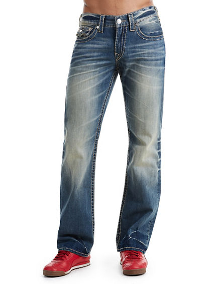 BOOTCUT FIT EARTHWORM BIG T JEAN