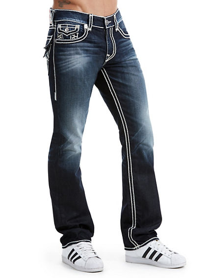 STRAIGHT FIT ROPE STITCH JEAN