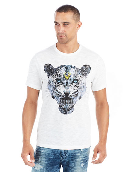 SHORT SLEEVE BLUE PANTHER MENS TEE