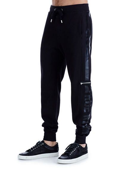 COLLEGIATE STRIPED SWEATPANT