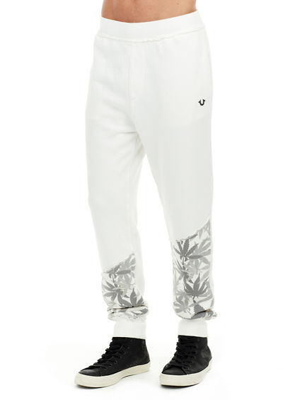HEMP PRINT MULTI CUFFED MENS SWEATPANT