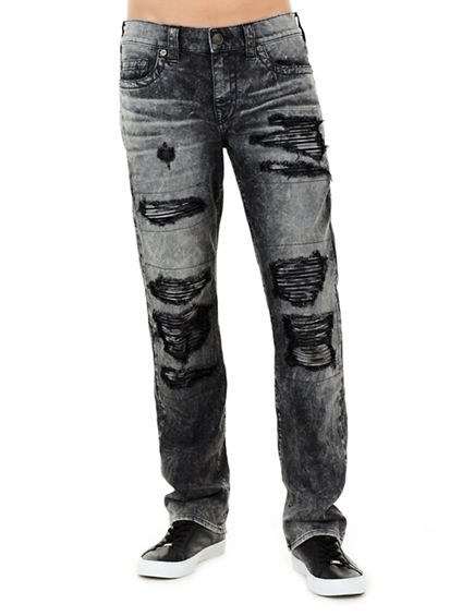 RICKY ZIPPER POCKET STRAIGHT MENS JEAN