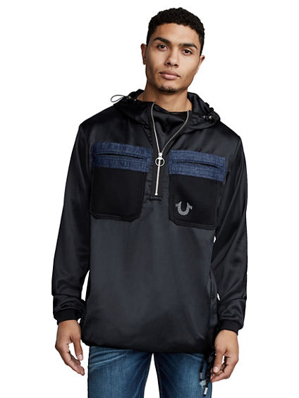 SATIN MENS ANORAK