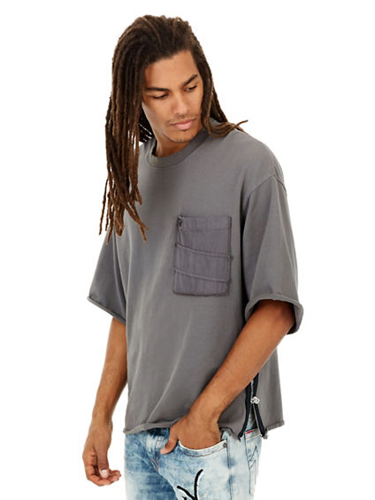 OVERSIZED POCKET MENS TEE