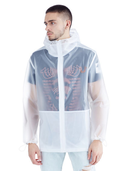 TRANSLUCENT MENS ANORAK