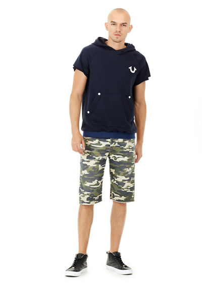 MENS CAMO RICKY STRAIGHT SHORT