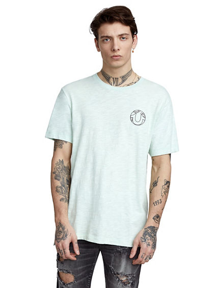 ELONGATED BEYOND EARTH MENS TEE