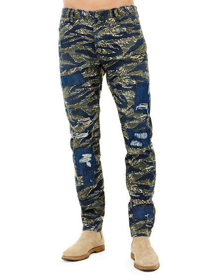 MIXED CAMO TAPERED MENS FIELD PANT