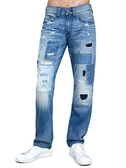 GENO SLIM PATCH MENS JEAN