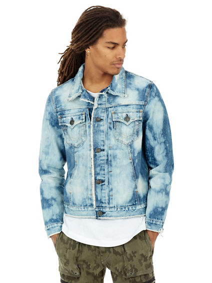RAW EDGE DYLAN DENIM MENS JACKET