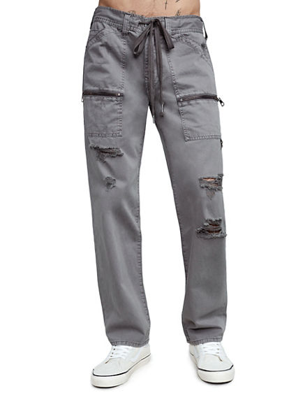 DRAWSTRING TRAIL UTILITY MENS PANT