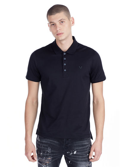 MERCERIZED MENS POLO SHIRT