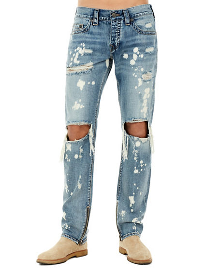DISTRESSED ROCCO SKINNY MENS JEAN