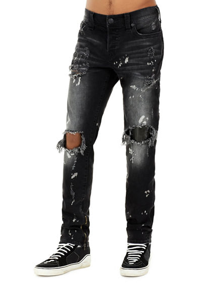 ROCCO DISTRESSED MENS JEAN