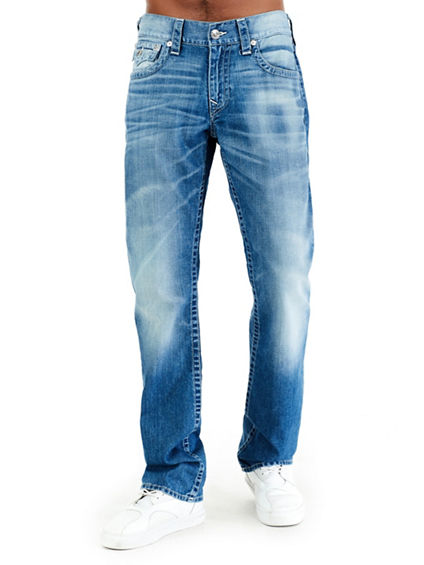 MENS STRAIGHT JEAN W/ FLAP