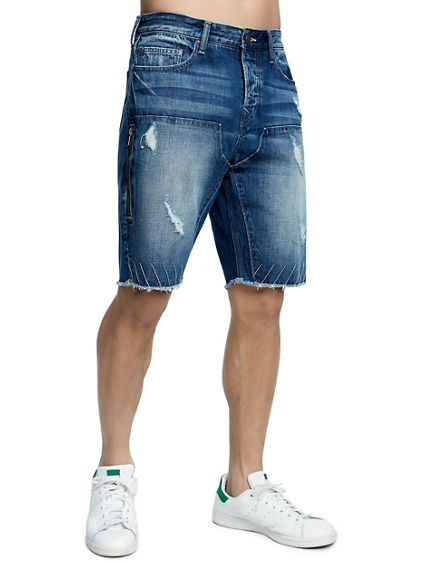 MENS FIELD DENIM SHORT