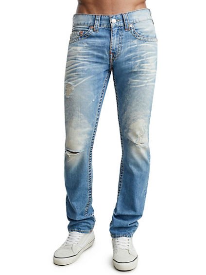 SLIM FIT OLD MULTI BIG T JEAN