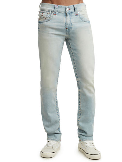 SLIM FIT WHITE WASHED JEAN