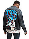 GRAFFITI TRUCKER JACKET