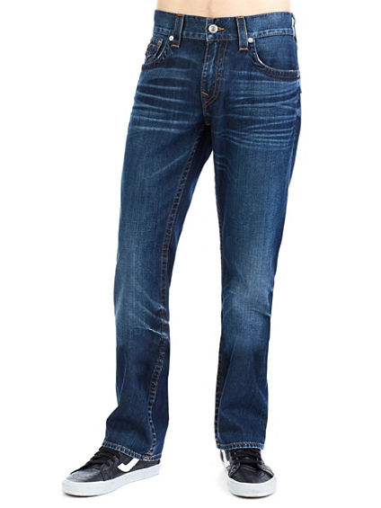 STRAIGHT W/ FLAP MENS JEAN