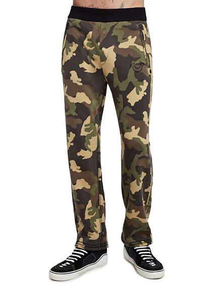 MENS CAMO SLIM SWEATPANT