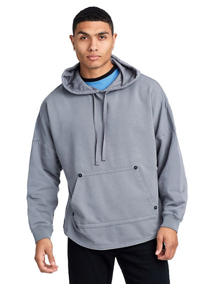 VOID TACTICS MENS FLEECE BUDDHA PULLOVER HOODIE