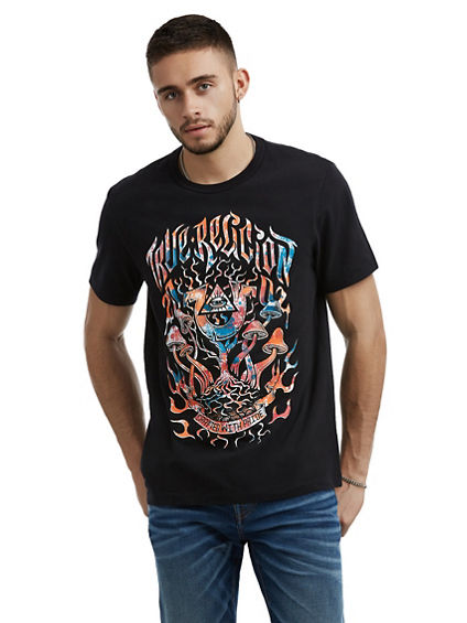 MENS PSYCHEDELIC GRAPHIC TEE