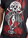 MENS GOTHIC DEVILS GRAPHIC TEE