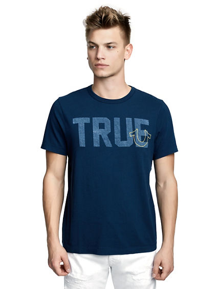 MENS TRUE LOGO GRAPHIC TEE