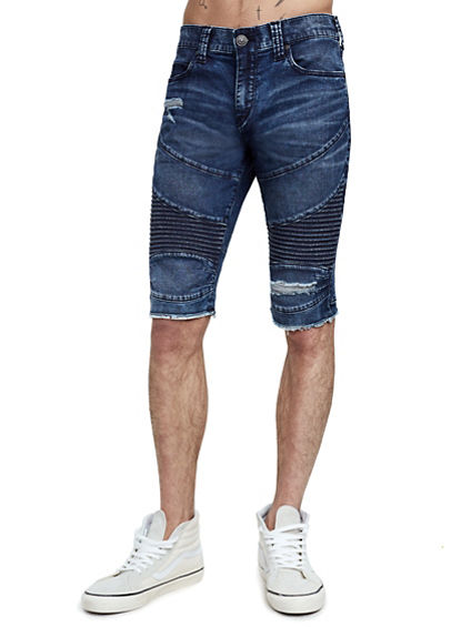 MENS MOTO GENO SLIM SHORT