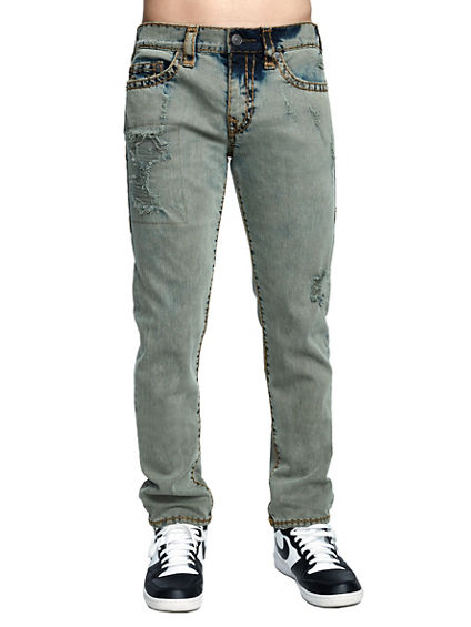MENS OVERDYED SUPER T ROCCO SKINNY JEAN