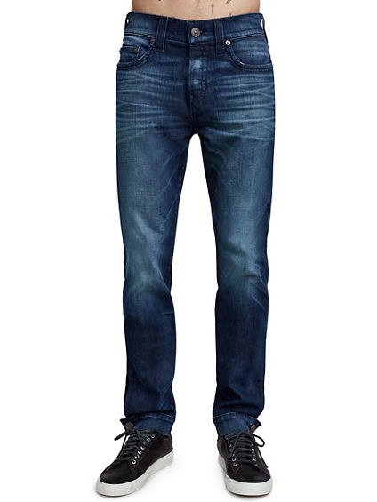 MENS ANKLE BUTTON ROCCO SKINNY JEAN