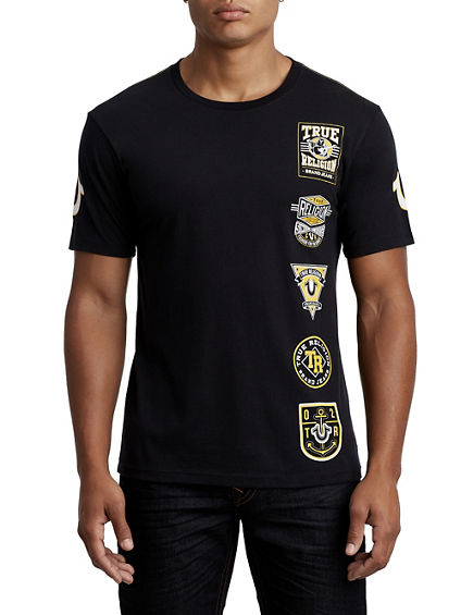 SCOUT PATCH CREW NECK TEE