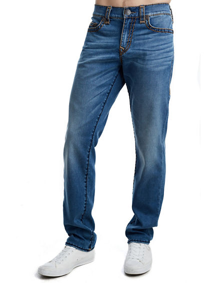 MENS STRETCH SUPER T GENO SLIM JEAN W/ FLAP