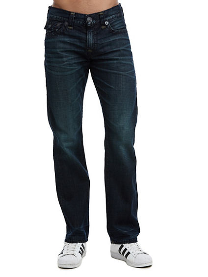 MENS SUPER T RICKY STRAIGHT JEAN W/ FLAP