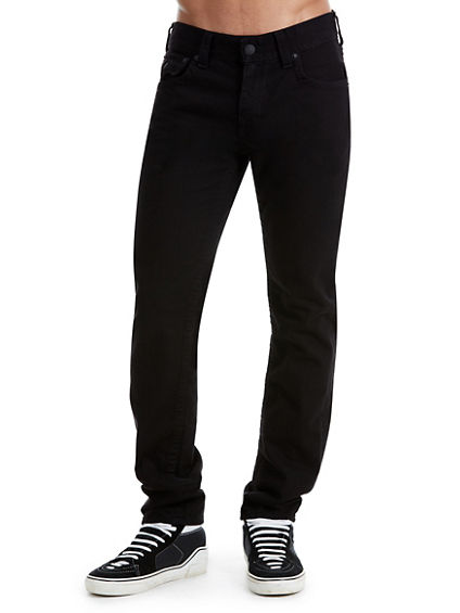 BLACK SKINNY MENS JEAN