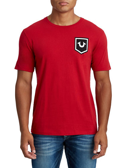 MENS BUDDHA CREST GRAPHIC TEE
