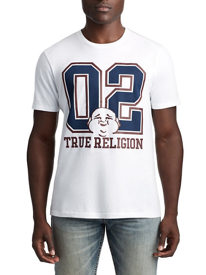MENS 02 VARSITY BUDDHA GRAPHIC TEE