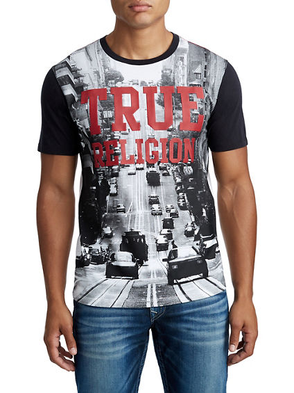 MENS SAN FRANCISCO CITY GRAPHIC TEE