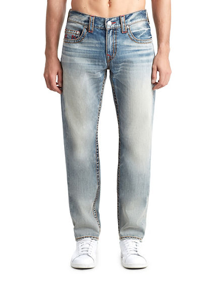 MENS MUTLI BIG T SLIM JEAN