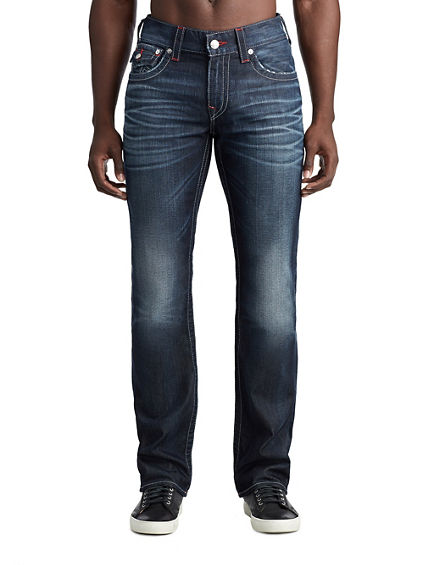 MENS TWILL TAPE STRAIGHT JEAN W/ FLAP