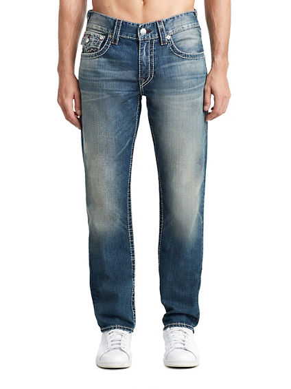 MENS MULTI BIG T SLIM JEAN W/ FLAP