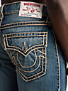 MENS ROPE STRAIGHT JEAN W/ FLAP
