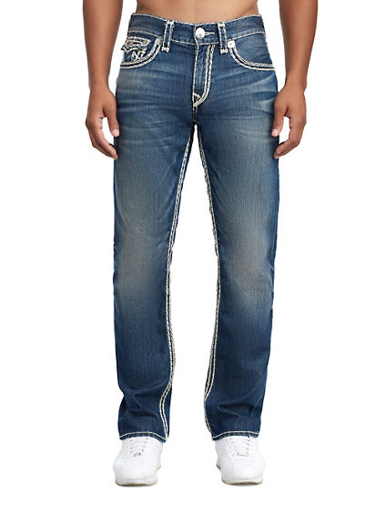 MENS SUPER QT STRAIGHT JEAN W/ FLAP