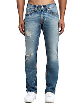 MENS MULTI BIG T STRAIGHT JEAN