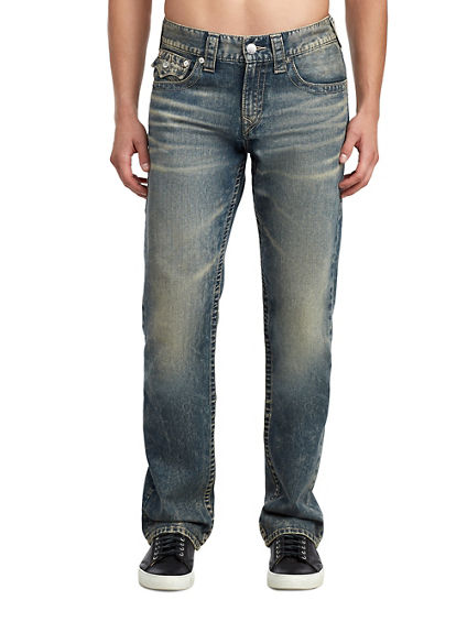 MENS RICKY STRAIGHT JEAN W/ FLAP