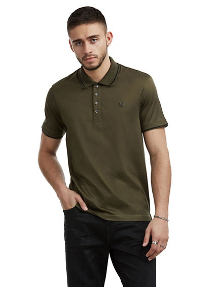 MENS MERCERIZED POLO SHIRT