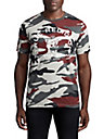 MENS COLOR CAMO LOGO TEE