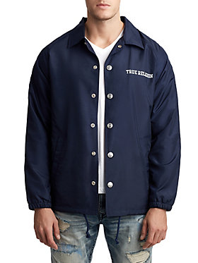 MENS COLLEGIATE CREST COACH JACKET