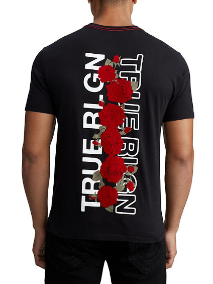 MENS TRUE ROSE GRAPHIC TEE